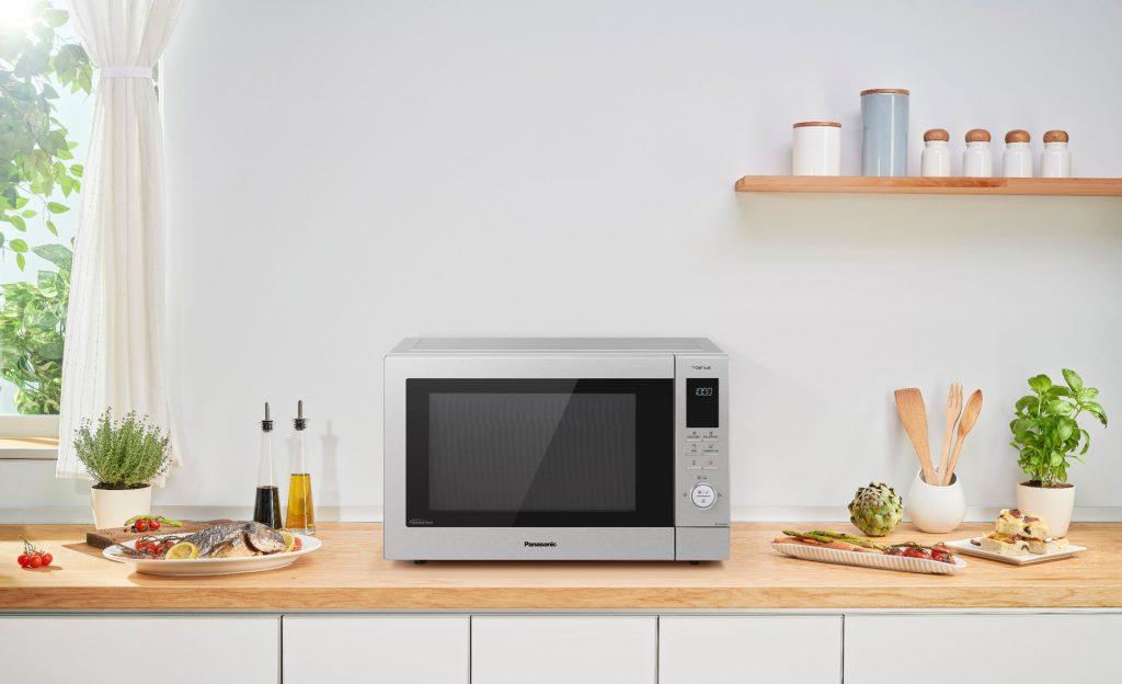 5 kitchen gadgets - Panasonic NN-CD87KSBPQ Slimline Combi Microwave Oven