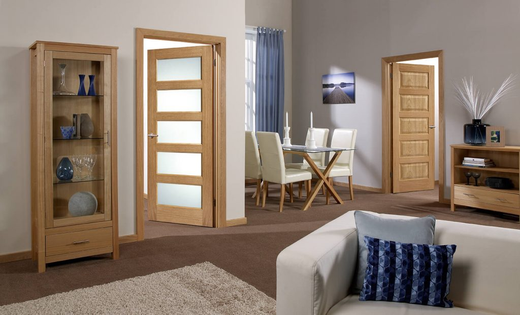 Which accessories best compliment doors?
