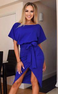 Blue Pop of Colour