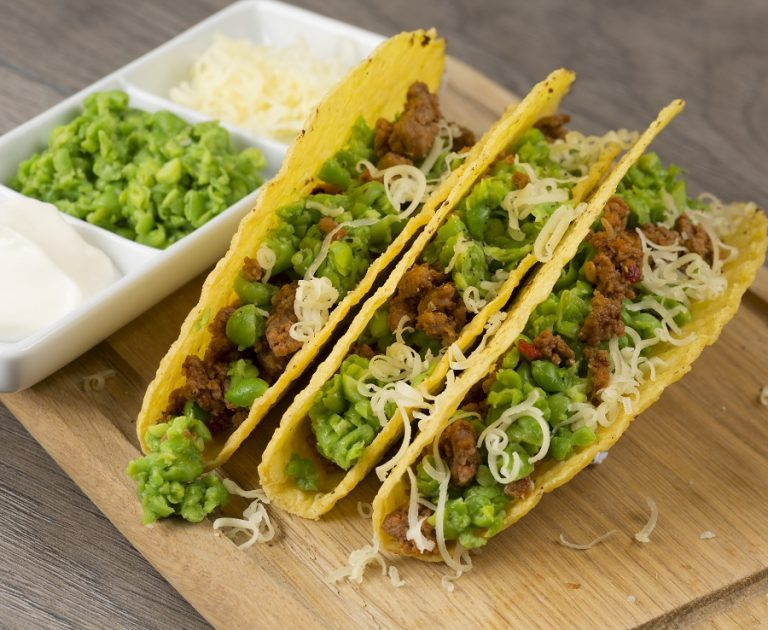 Yes Peas! Beef Tacos