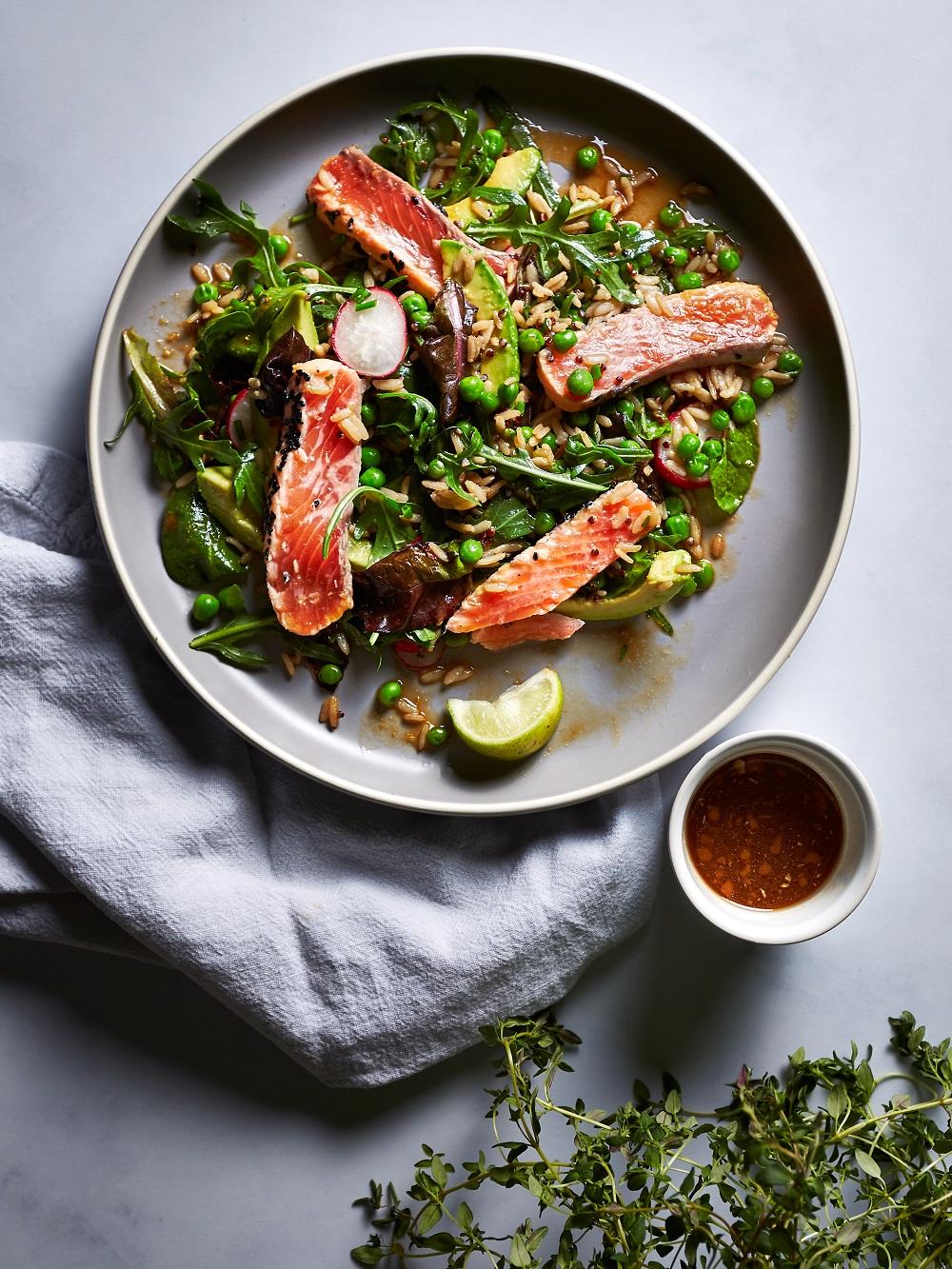 Yes Peas! Salmon Sashimi