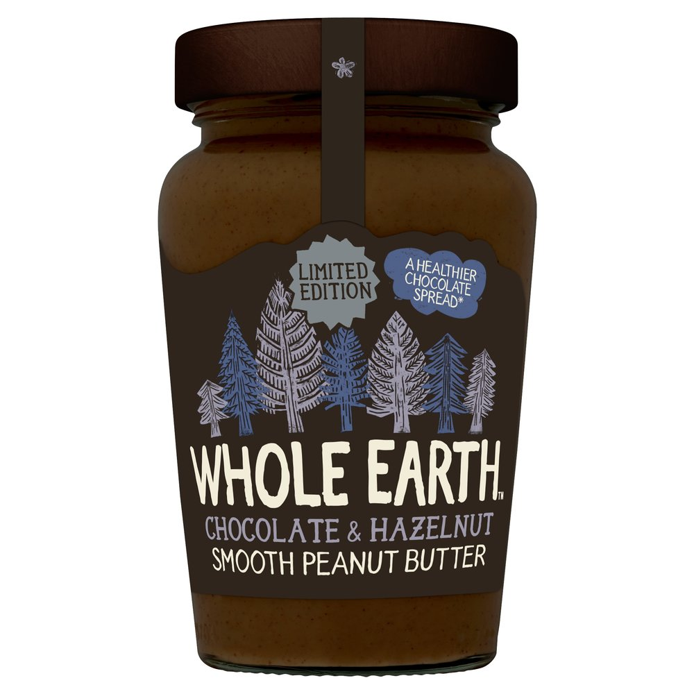 whole earth chocolate and hazelnut