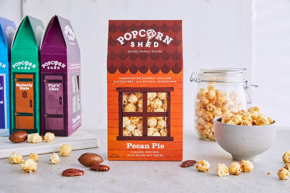 popcorn shed pecan pie