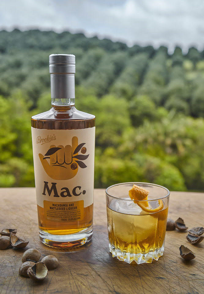 Mac. By Brookie's Old Fashioned cocktail