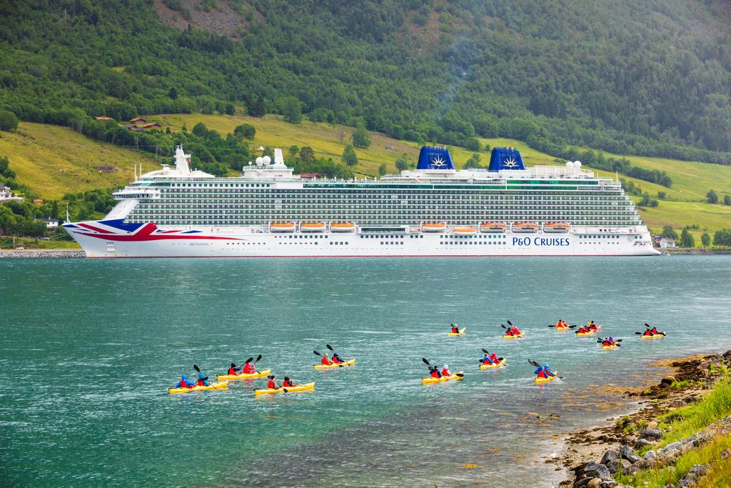 P&O Cruises Brittania