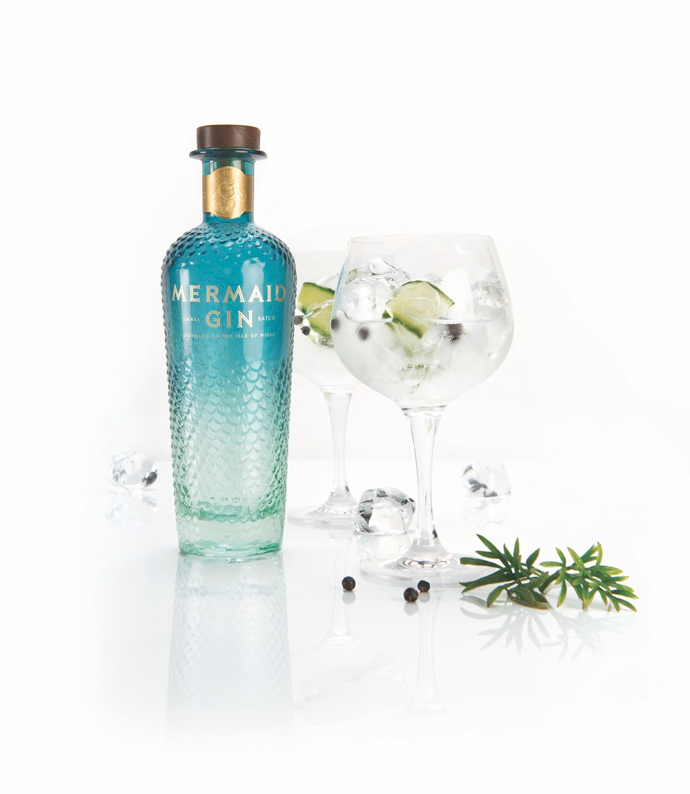 mermaid gin and tonic