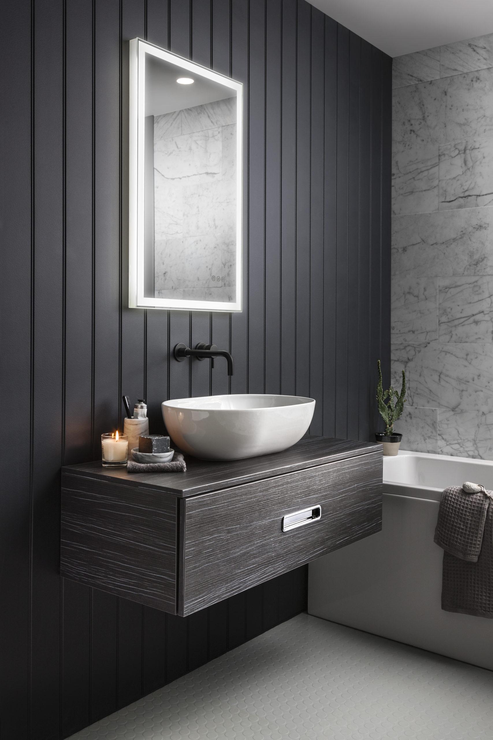 Matt Black Bathroom