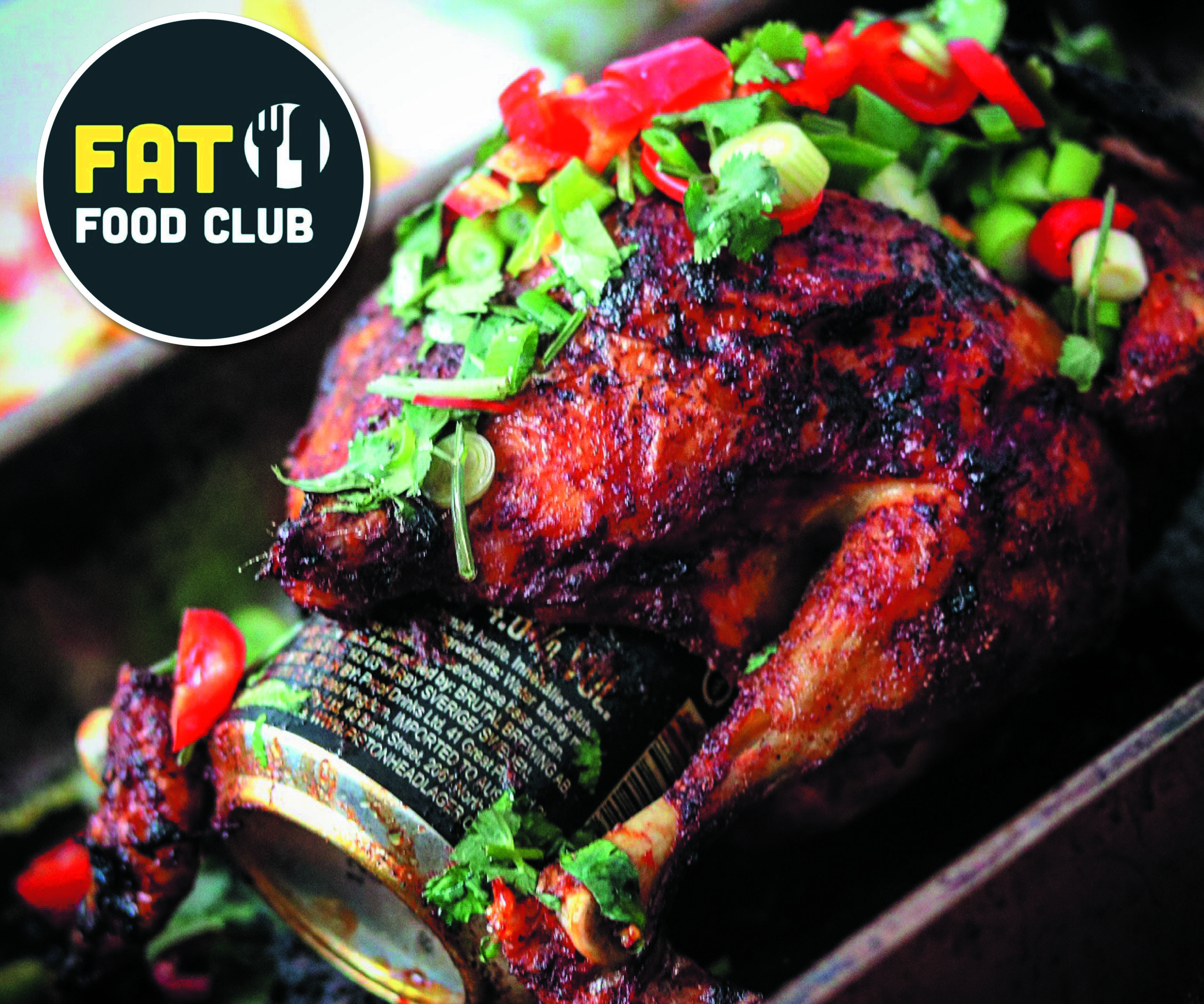 Beer Can Chicken from FatFoodClub