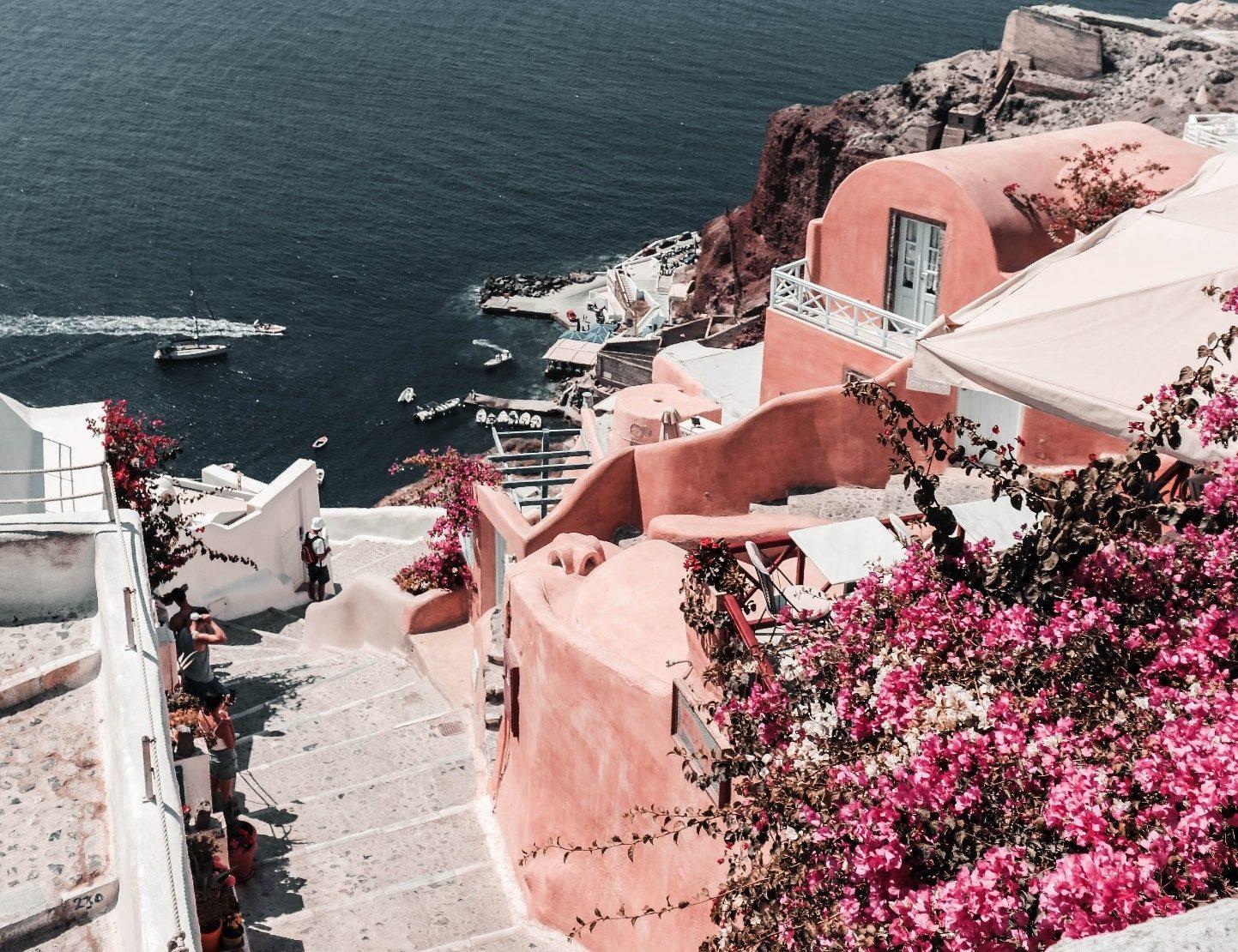 Day in Santorini