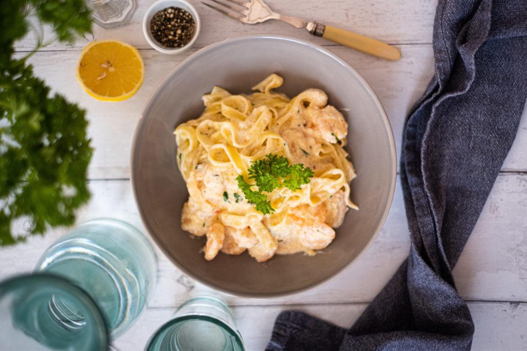 Seafood Taglietelle