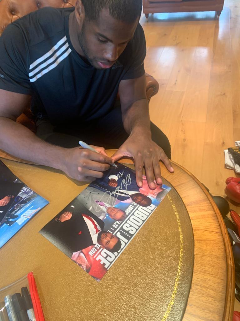Authentic signed sports memorabilia