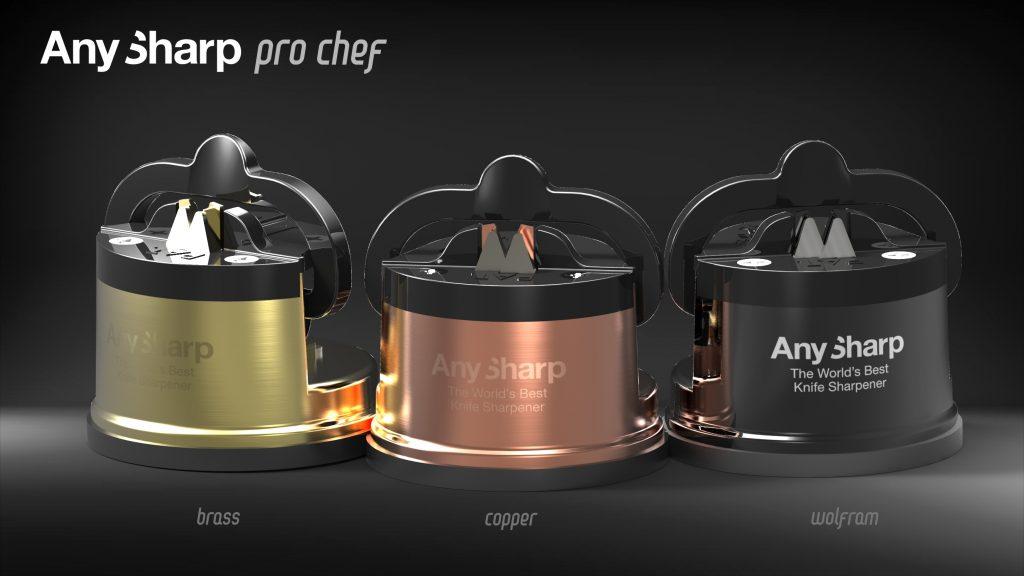 5 kitchen gadgets - Anysharp Pro Knife Sharpener