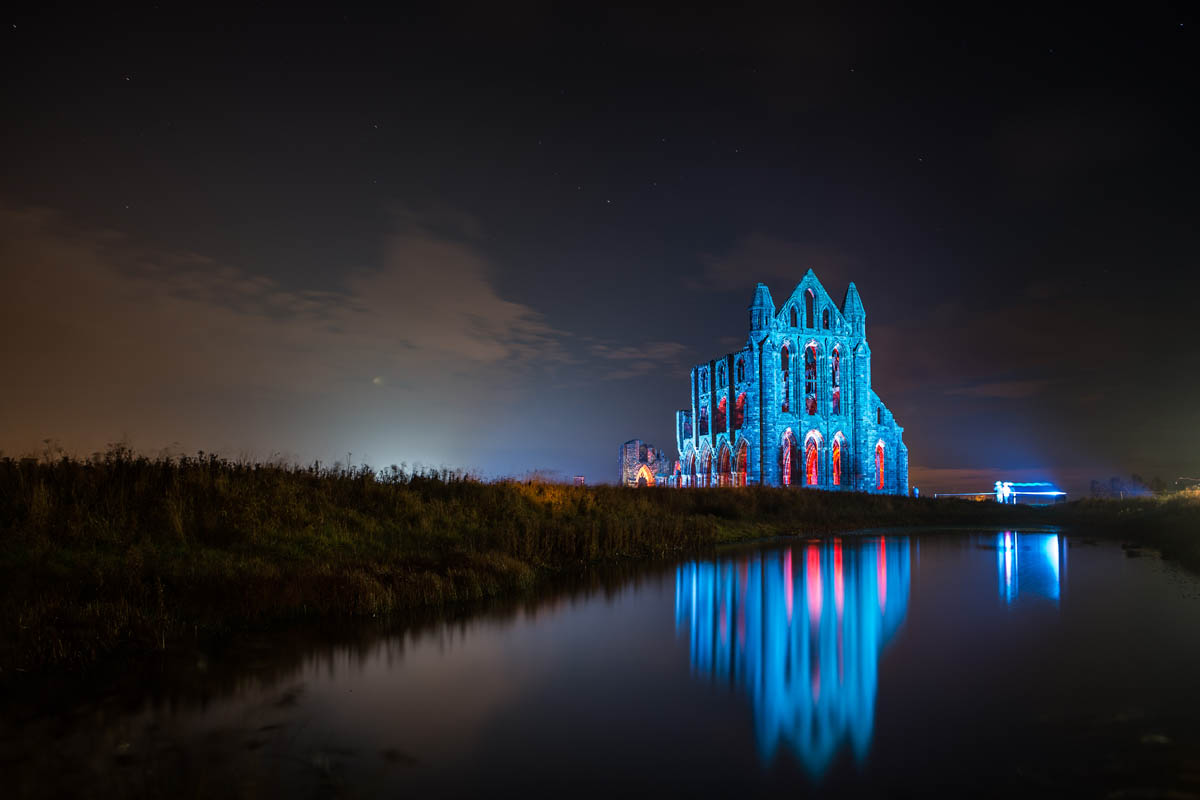 Whitby Abbey Illuminations