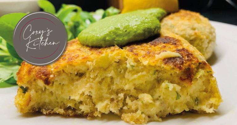 Coxys Kitchen fish cakes