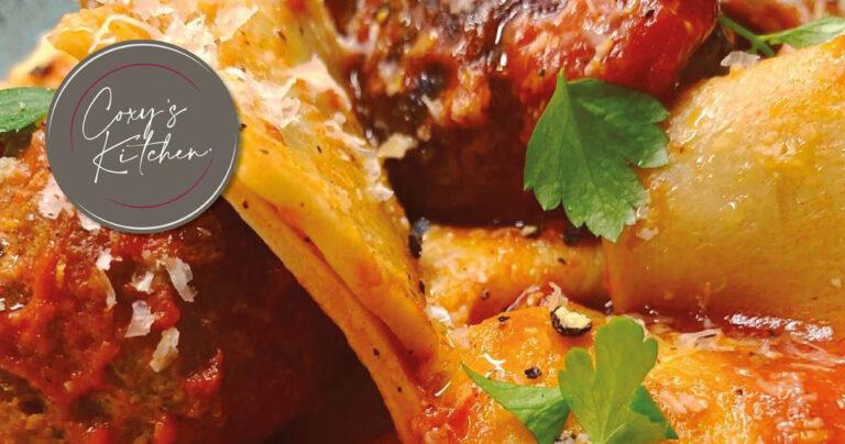 Italian Meatballs and Marinara Sauce