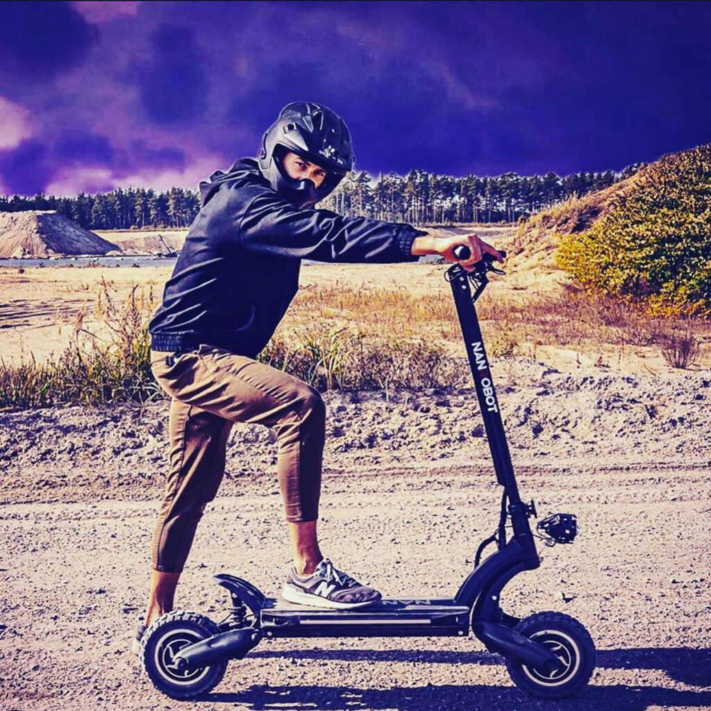 electric scooters are fast reliable