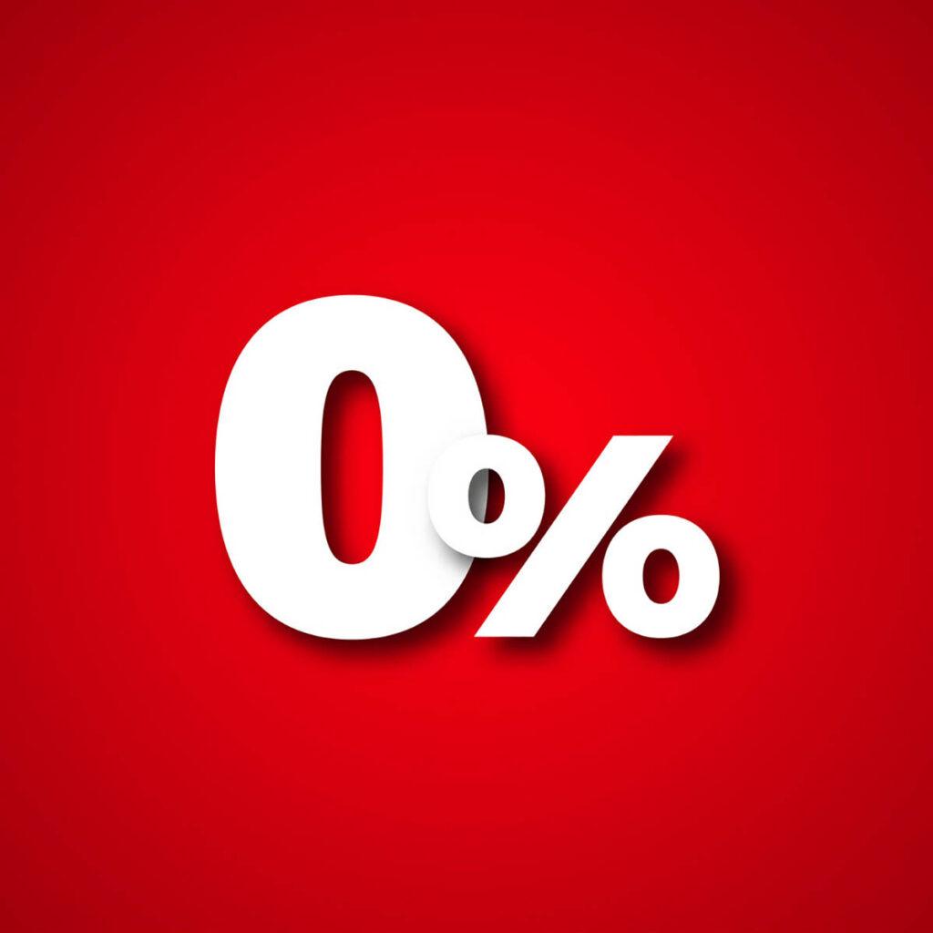 zero percent loans
