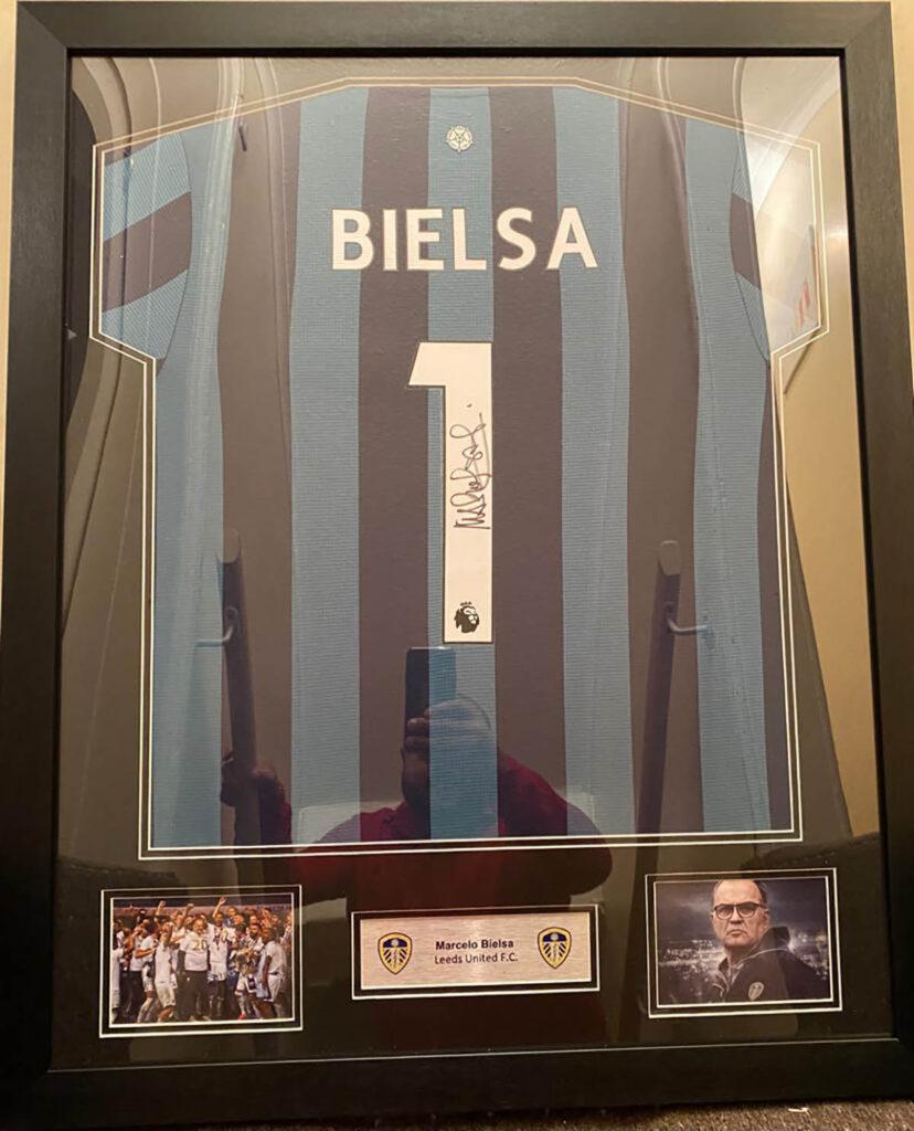 Original signed and framed memorabilia
