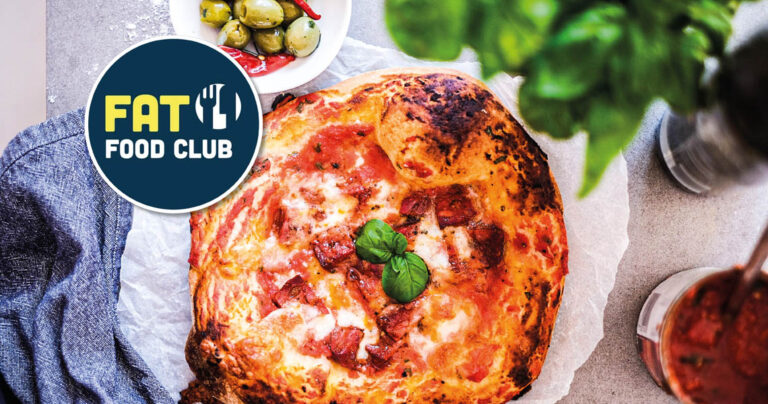 Chorizo and mozzarella Neapolitan Pizza