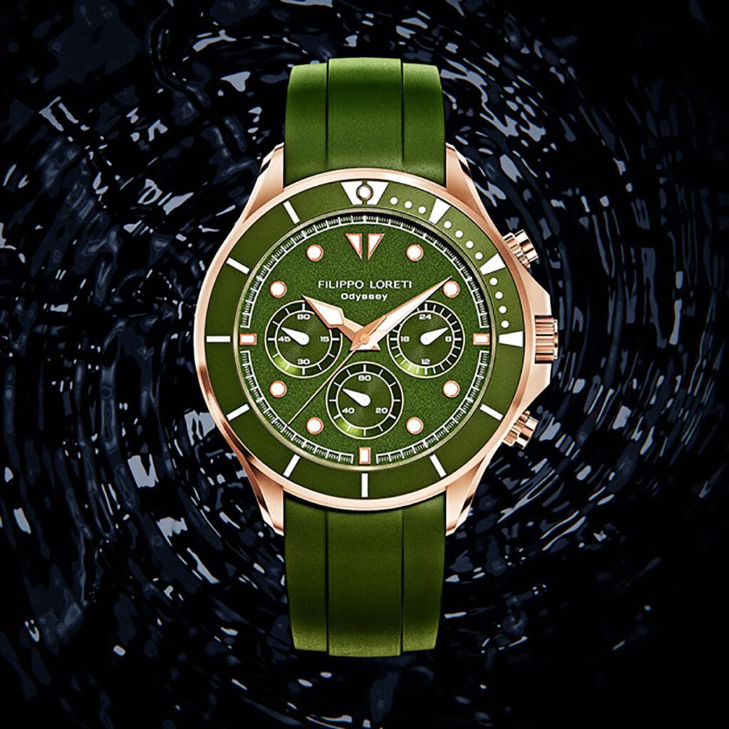 Green Watch Face