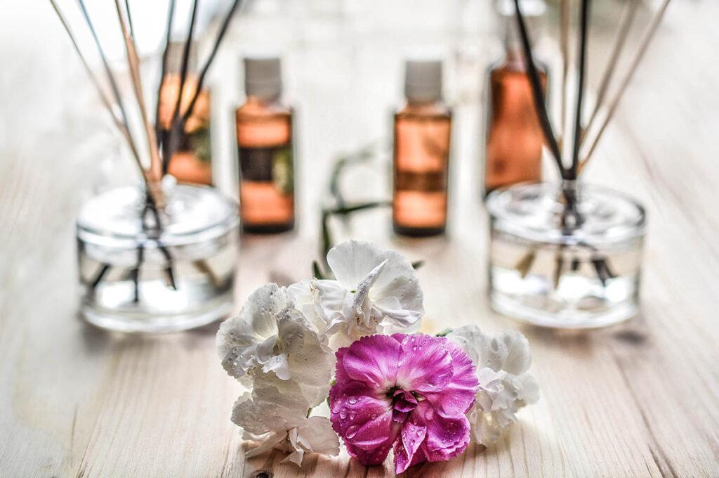 Essential oils in your bathroom