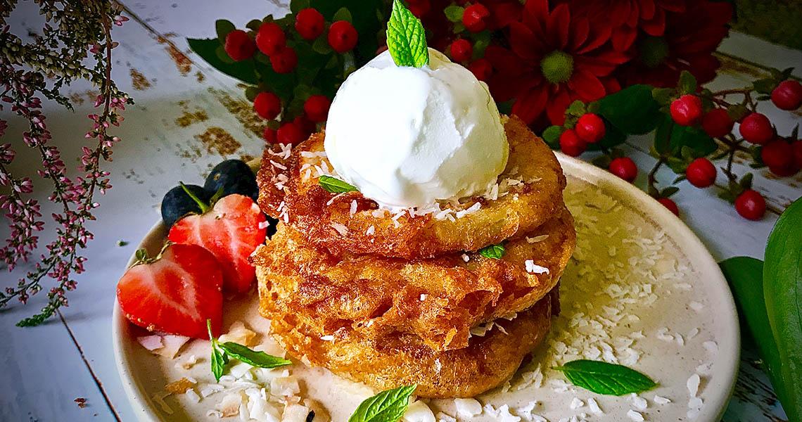 Thai style Pineapple Fritter