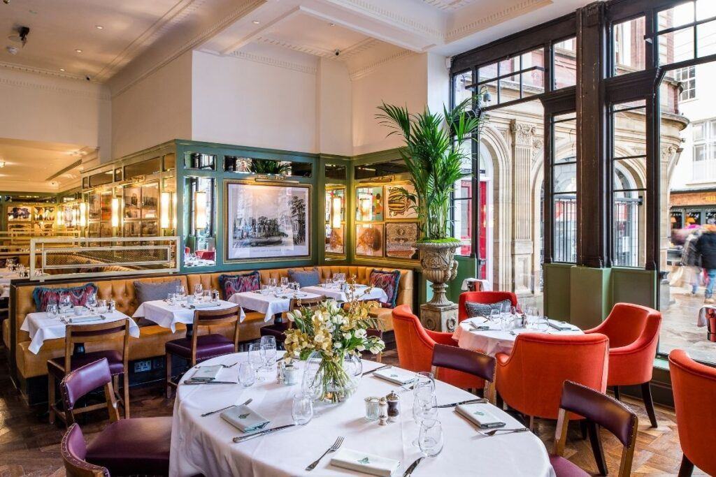 Lunch at The Ivy