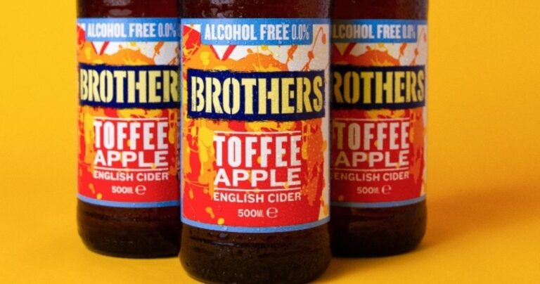 BROTHERS TOFFEE APPLE CIDER ALCOHOL FREE
