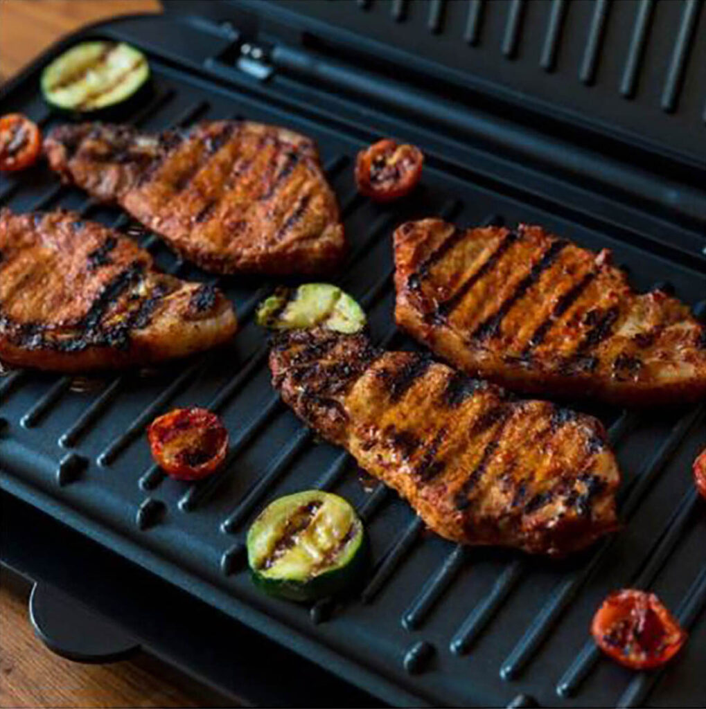 WIN A GEORGE FOREMAN SMOKELESS BBQ INDOOR GRILL